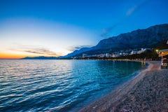 Makarska Imagens de Stock