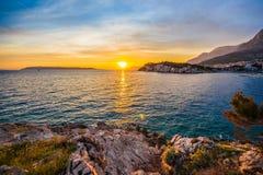 Makarska Imagens de Stock Royalty Free