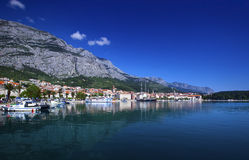 Makarska city,croatia Stock Photo