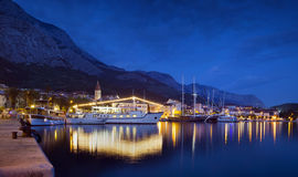 Makarska city,croatia Royalty Free Stock Images