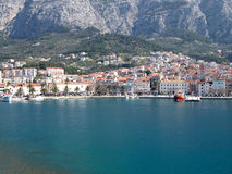 Makarska city Royalty Free Stock Image