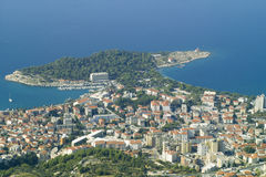 Makarska cityscape Stock Photos