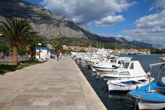 Makarska imagenes de archivo