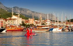 MAKARSKA, CROATIA Jule 2014 Stock Photo