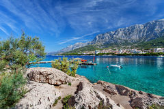 Makarska, Croazia Immagine Stock Libera da Diritti