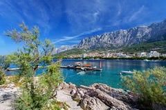 Makarska, Croazia Fotografia Stock Libera da Diritti