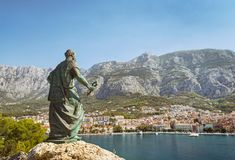 Makarska, Dalmatia, Croatia Stock Photos