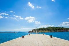 Makarska Kroatië Stock Foto