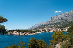 Makarska Kroatien Royaltyfri Foto