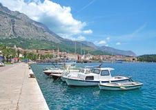 Makarska, Makarska Riviera, Dalmatien, Kroatien Lizenzfreie Stockbilder