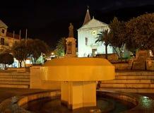 Makarska at night 1 Royalty Free Stock Photos