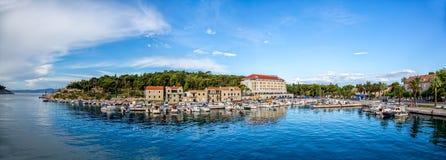 Makarska-Panorama Lizenzfreies Stockbild