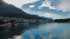 Makarska panorama Zdjęcia Stock