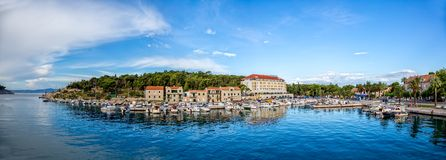 Makarska panorama Royalty Free Stock Image