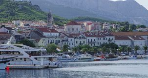 Makarska panorama Stock Images