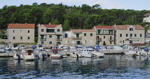 Makarska port Royalty Free Stock Photo