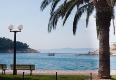 Makarska Resort . Croatia Royalty Free Stock Photos