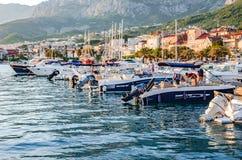 Makarska, Makarska riviera, Хорватия стоковая фотография rf