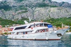 Makarska, Makarska riviera, Хорватия стоковые фотографии rf