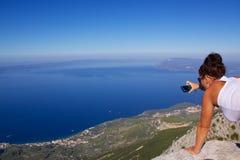 Makarska Riviera Royalty Free Stock Image