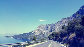 Makarska Riviera Obraz Royalty Free
