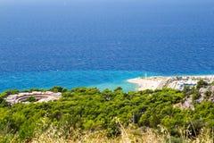 Makarska Riviera Imagem de Stock