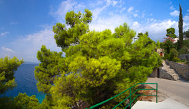 Makarska Riviera Fotografia de Stock Royalty Free