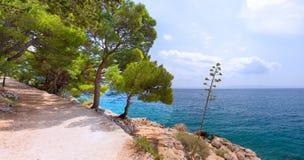 Makarska Riviera Imagem de Stock Royalty Free