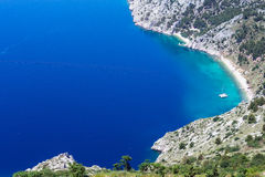 Makarska Riviera coast (Croatia) Royalty Free Stock Photo