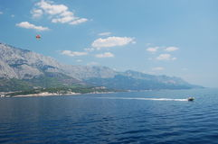 Makarska riviera - Croatia Royalty Free Stock Photos