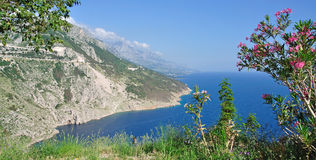 Makarska Riviera,Dalmatia,Croatia Royalty Free Stock Photography