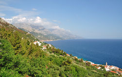 Makarska Riviera,Dalmatia,Croatia Stock Photos