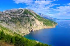 Makarska Riviera Royalty Free Stock Photography