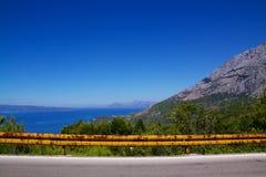 Makarska Riviera in Dalmatien Stockbilder