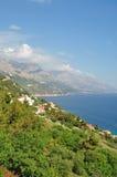 Makarska Riviera, Dalmatien, Kroatien Lizenzfreie Stockbilder