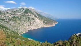 Makarska Riviera, Dalmatien, Kroatien Lizenzfreies Stockfoto