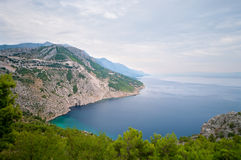 Makarska Riviera. Dinara mountains, Biokovo Royalty Free Stock Image
