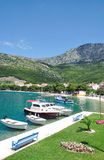 makarska riviera drvenik Хорватии dalmatia стоковая фотография rf