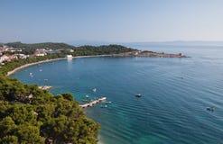 Makarska Riviera. Kroatien Lizenzfreie Stockfotografie
