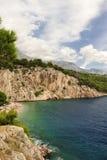 Makarska riviera Stock Image