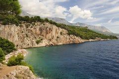 Makarska riviera Royalty Free Stock Images