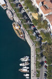 Makarska, widok z lotu ptaka Zdjęcie Stock