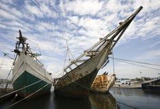 Makassar harbor Royalty Free Stock Photos
