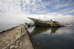Makassar harbor Stock Photos