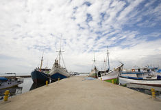 Makassar harbor Stock Images