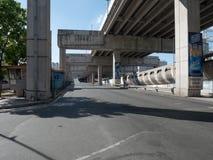 Free Makati City Empty Toll Highway During Metro Manila Lock Down Due To Coronavirus Covid-19 Outbreak Stock Photography - 176369452