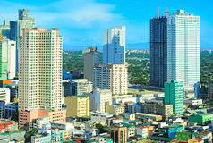Makati city , Manila, Philippines stock photography