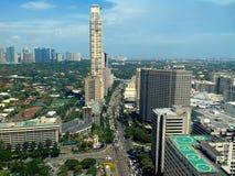 Makati city, philippines, asia Stock Photography