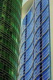 Makati Gebäude Lizenzfreies Stockbild