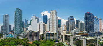 Makati, Manila (Filipiny) zdjęcie royalty free